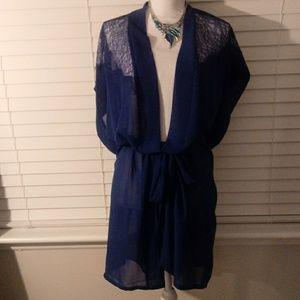 Lane Bryant Lace Robe